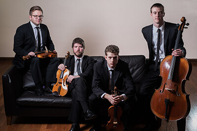 String Quartet Begin The Beguine